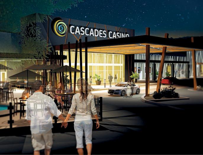 Cascades Casino Kamloops Entrance